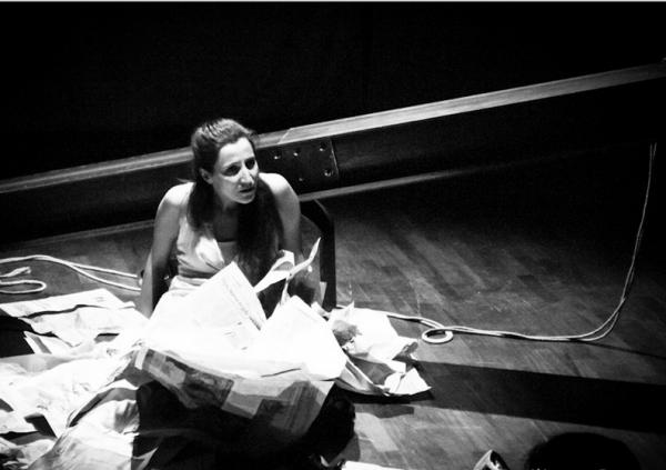 Valeintia Rho in scena