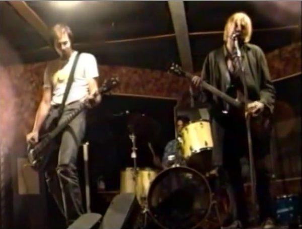 Nirvana's rehearsal in Tacoma, Washington